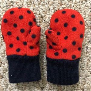 Gap fleece mittens toddler sz XS-S